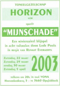 2003Mijnschade
